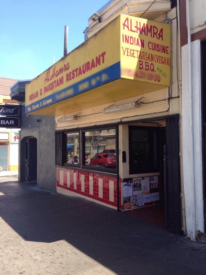 Alhamra pakistani indian restaurant mission district for Al hamra authentic indian cuisine