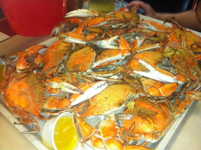 Blue Ridge Seafood Menu For Manas Prince William County Urbanspoon Zomato