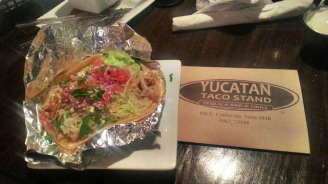 Yucatan taco stand okc