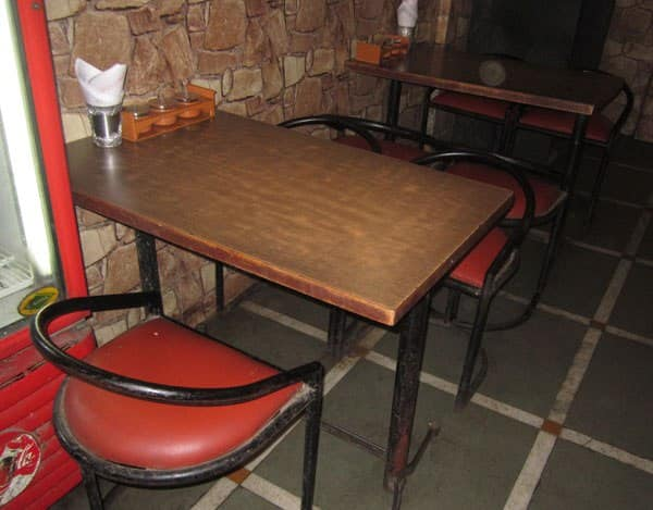 Dainik chinese corner khopat thane west mumbai zomato for Dainik table