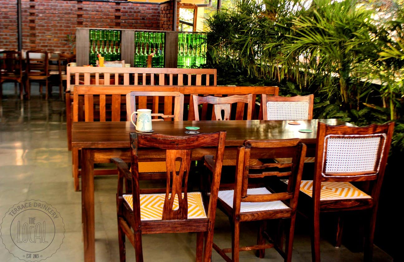 Beer and Food with a side of Cool Breeze at The Local - Terrace Drinkery in Bangalore