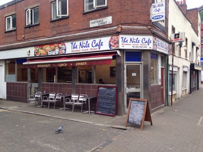 Hill Street Cafe Closed