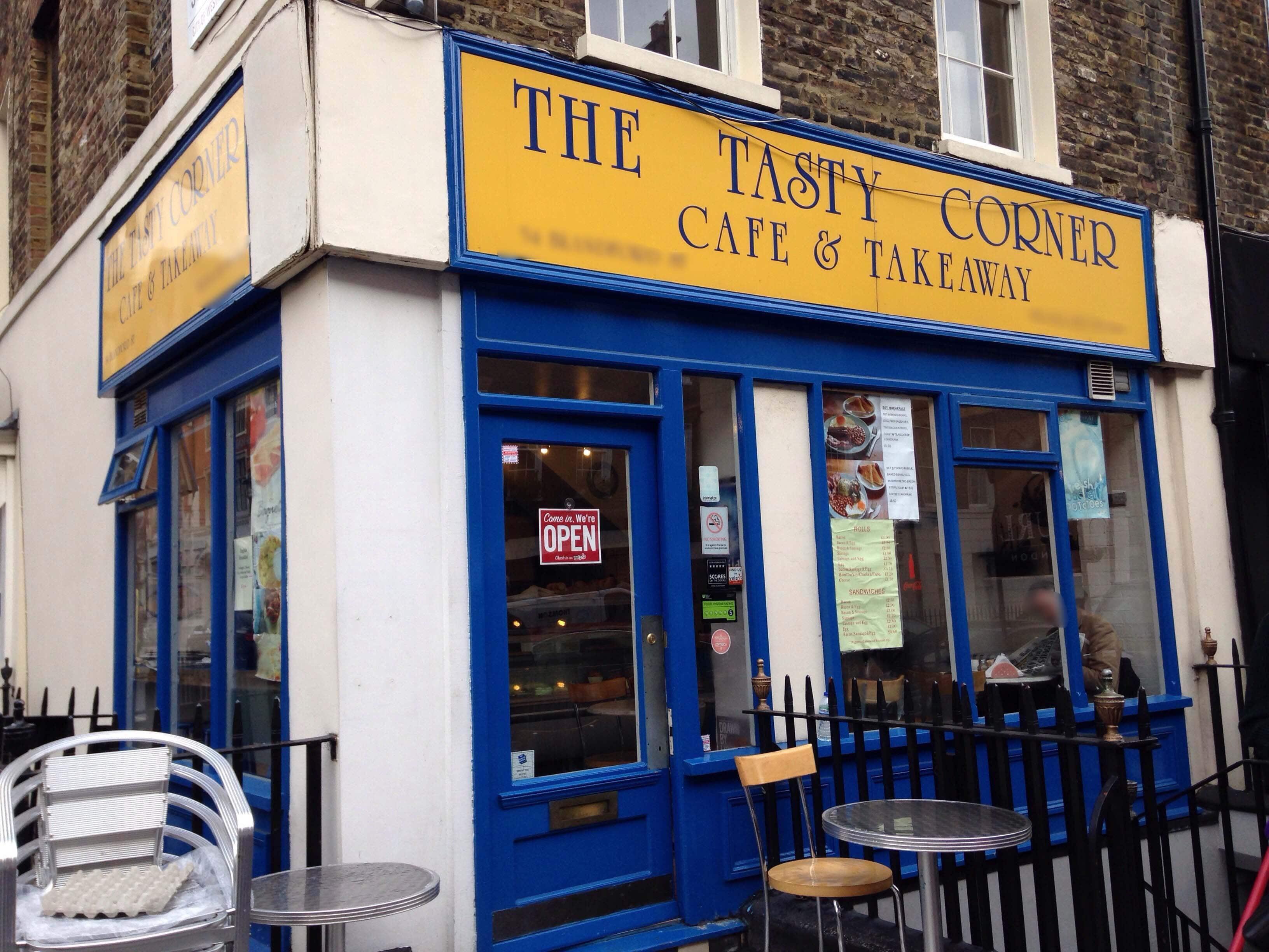 Tasty Corner Menu, Menu for Tasty Corner, Marylebone, London