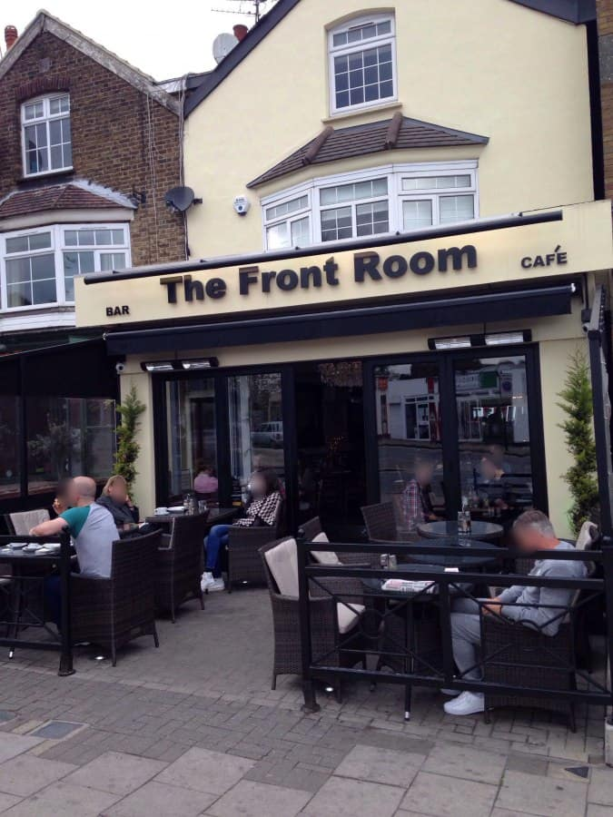 The Front Room Chingford London Zomato Uk