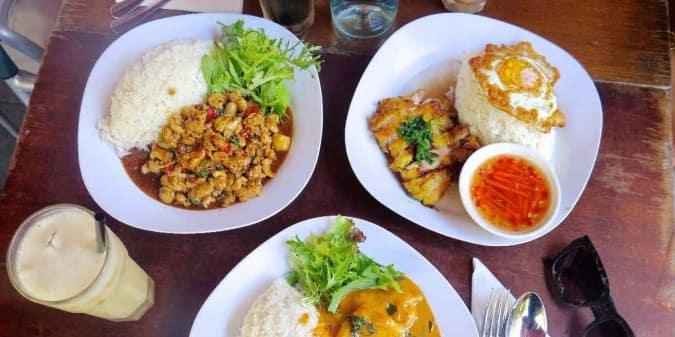 Silks Restaurant Dinner Menu