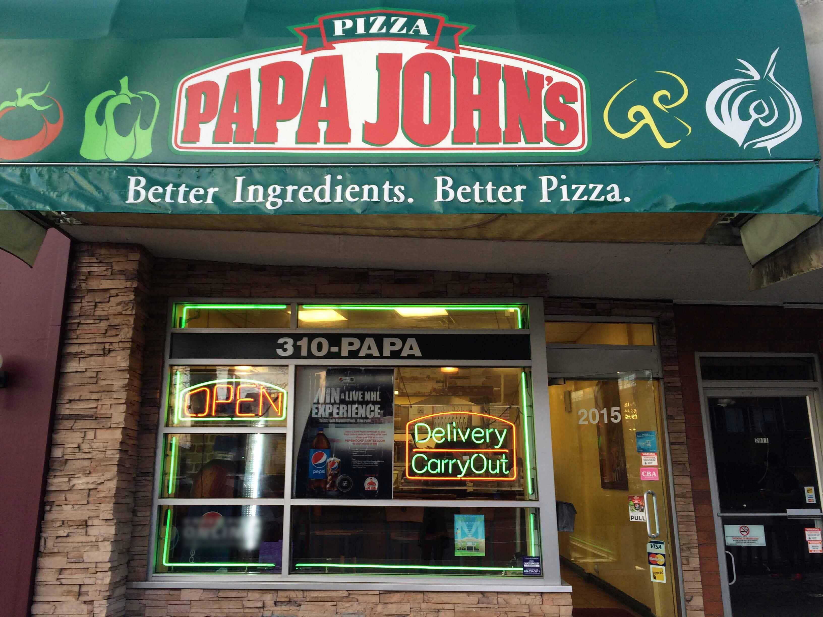 Papa John's, Shaughnessy, Vancouver - Urbanspoon/Zomato