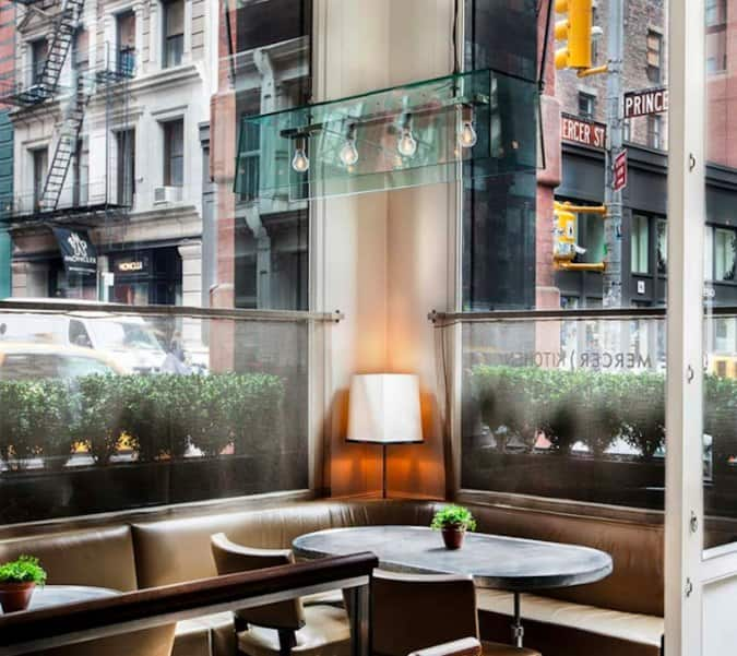 The Mercer Kitchen New York New York City Urbanspoon Zomato
