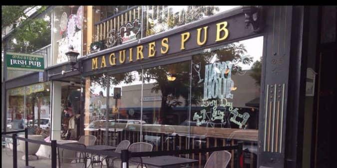 Maguire 39 s irish pub petaluma petaluma urbanspoon zomato for Food bar petaluma
