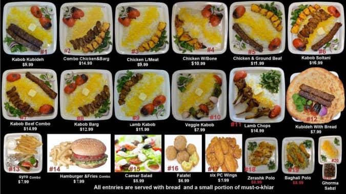 Mediterranean kabob menu menu for mediterranean kabob for Alexandria mediterranean cuisine menu