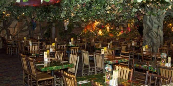 Rainforest Cafe Grapevine Hours