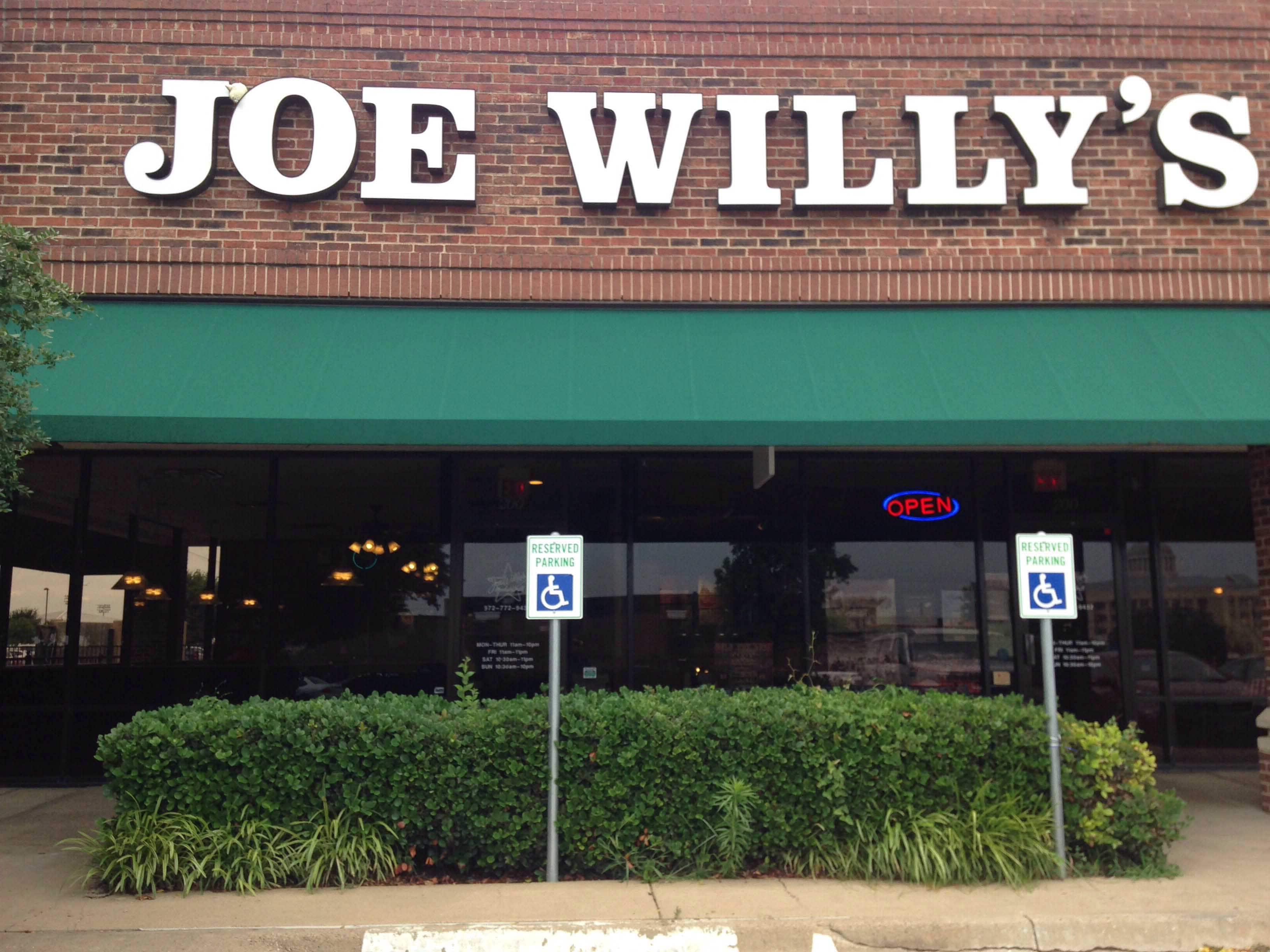 Joe willys rockwall