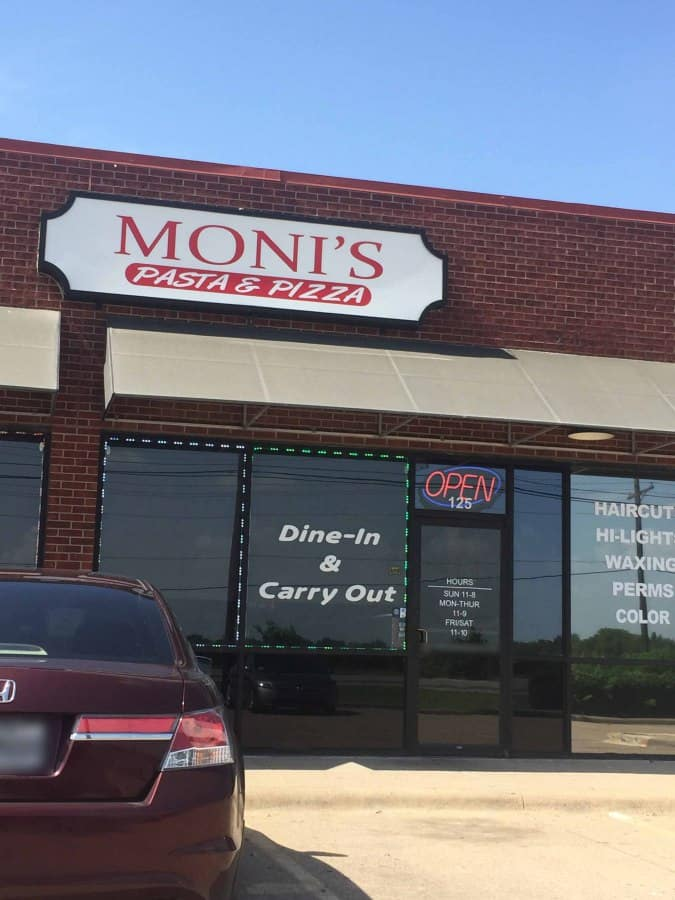 Cedar Hill (TX) United States  city photos : Moni's Pasta & Pizza Menu Urbanspoon/Zomato