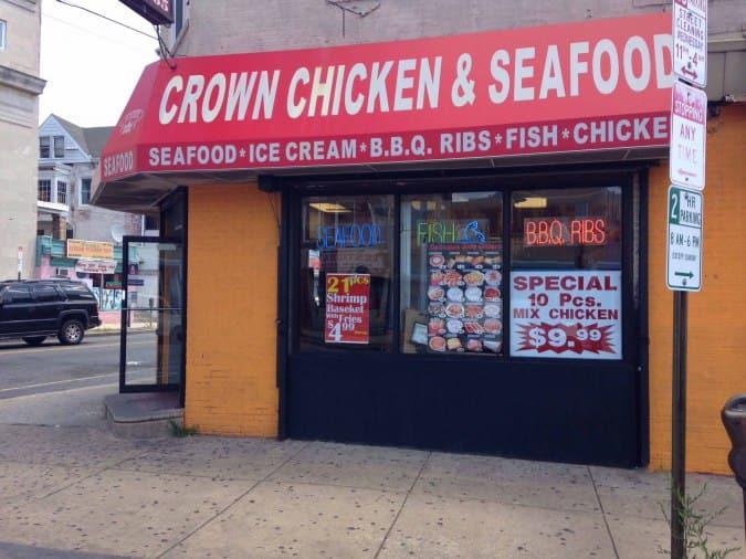 Crown Fried Chicken Menu, Menu for Crown Fried Chicken