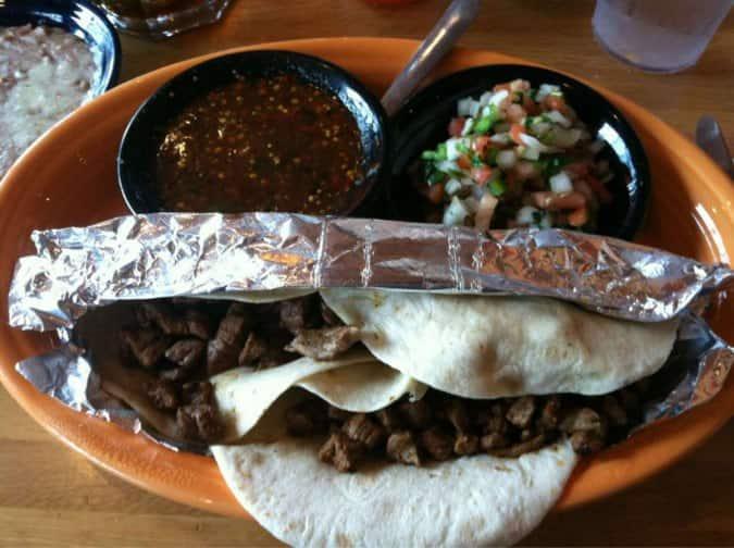 La Parrilla Mexican Restaurant Breakfast Menu