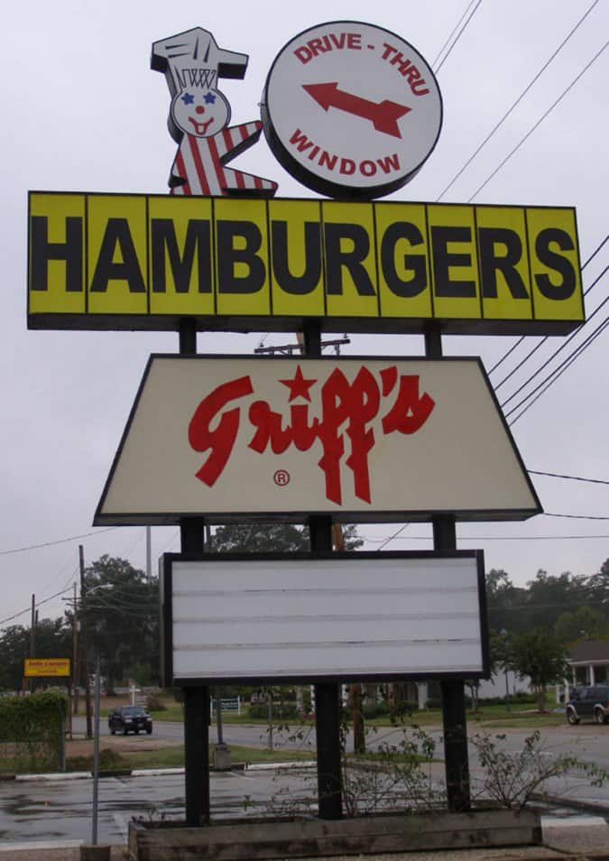 Ruston (LA) United States  city pictures gallery : Griff's Hamburgers, Ruston, Ruston Urbanspoon/Zomato