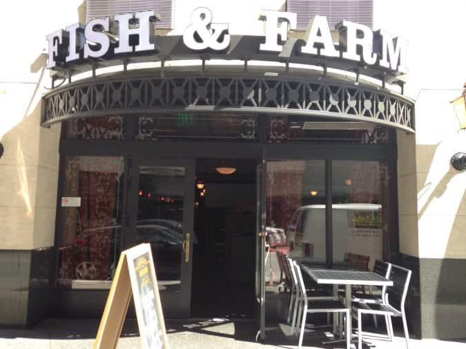 Fish farm financial district san francisco for Fish and farm sf