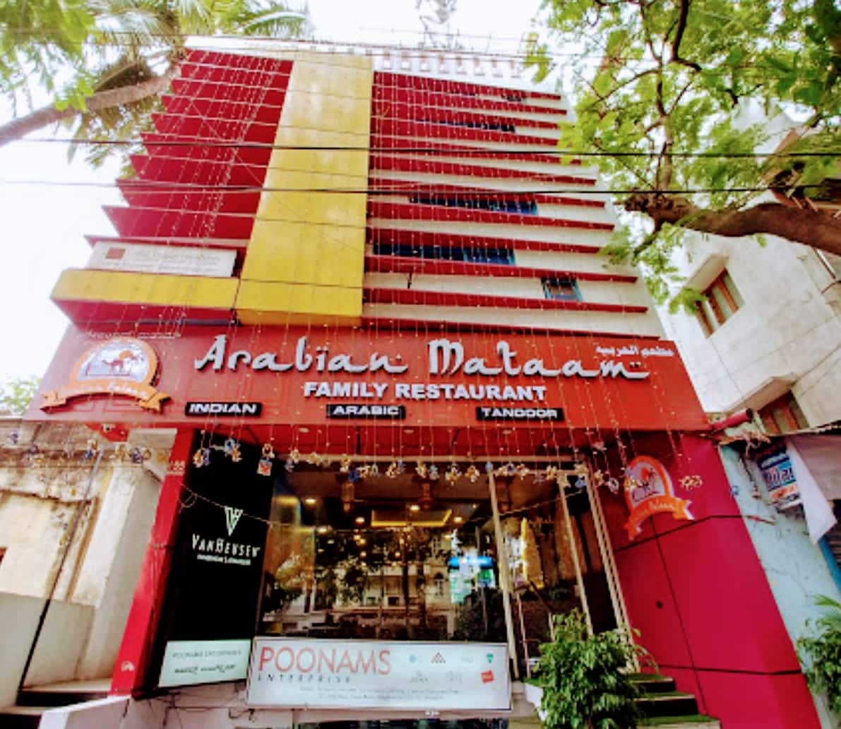 Arabian Mataam Frazer Town Bangalore
