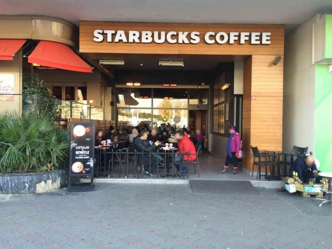 Starbucks Menu Menu For Starbucks Taksim Stanbul Zomato Turkey
