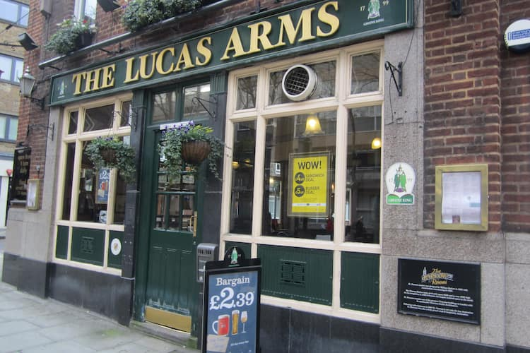Lucas Arms King S Cross London