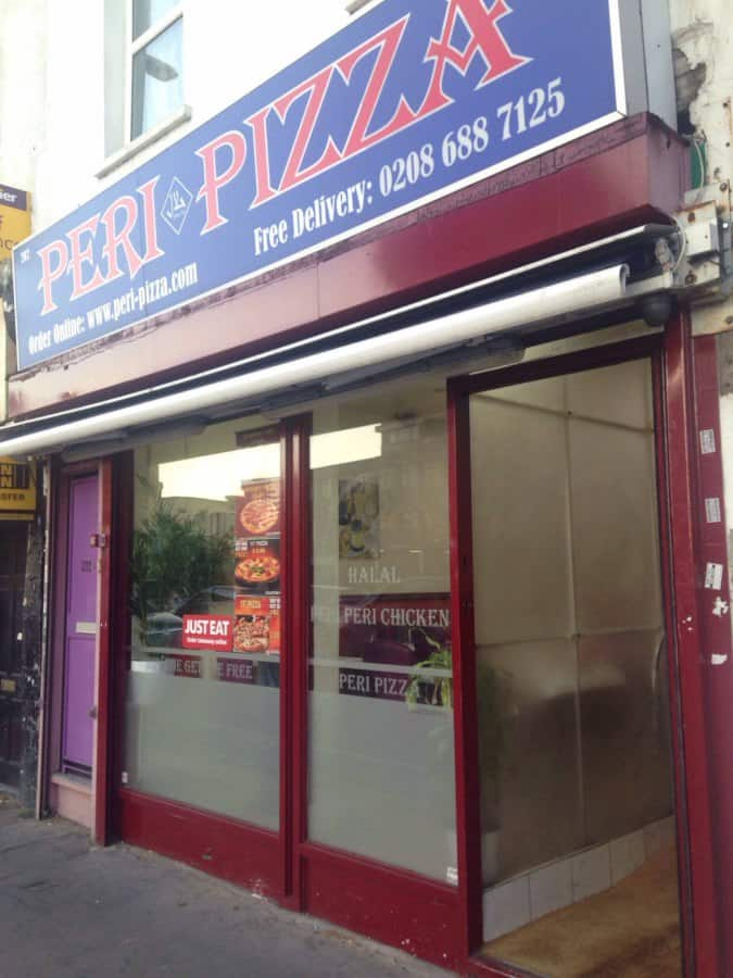 Peri Pizza Menu Menu For Peri Pizza Croydon London