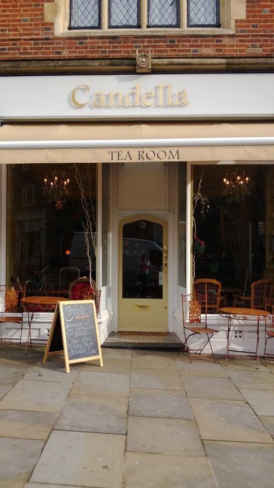 Candella Tea Room London Menu