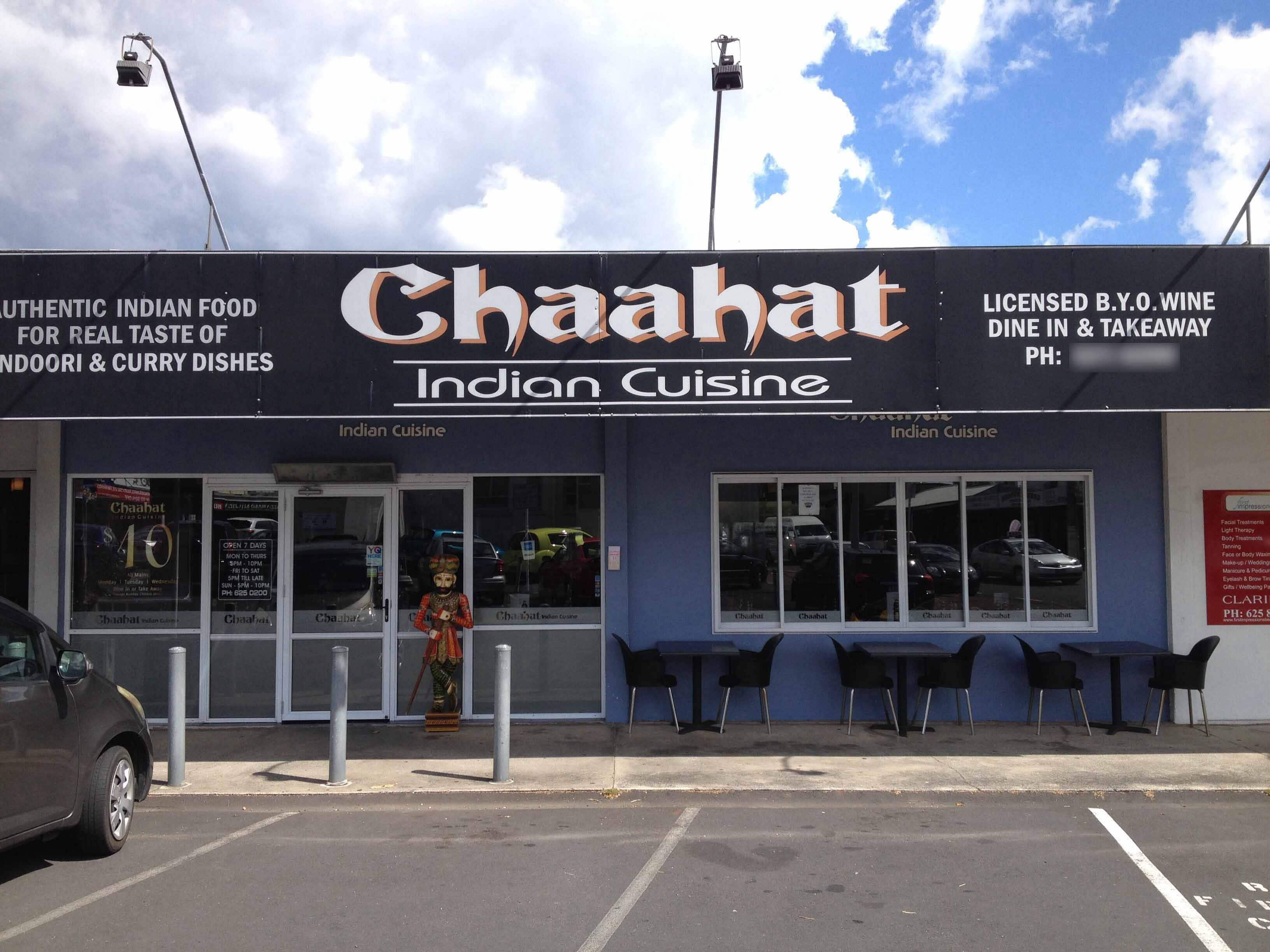 Chaahat indian cuisine for Ajadz indian cuisine auckland