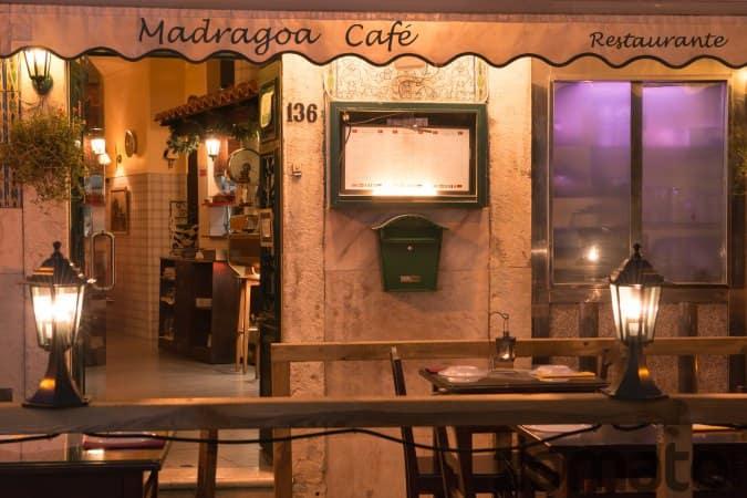 Madragoa Café menu, Menu restauracji Madragoa Café, Madragoa, Lisboa