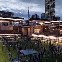Rooftop Bar and Cinema CBD, Melbourne; Rooftop Bar and Cinema, Melbourne; Get Menu, Reviews, Contact, Location, Phone Number, Maps and more for Rooftop Bar and Cinema Restaurant on Zomato. Serves Bar Food. Known for At the very top of Curtin House, offering views of the city and good vibes. Related to Rooftop Bar and Cinema, Swanston Street.