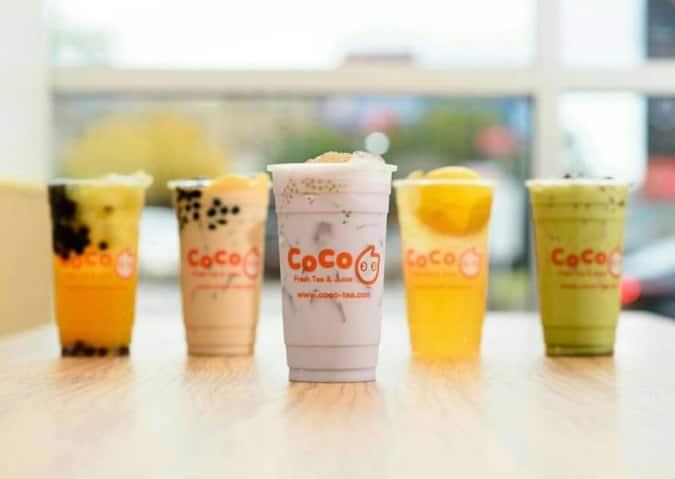 coco tea in SM SeaSide