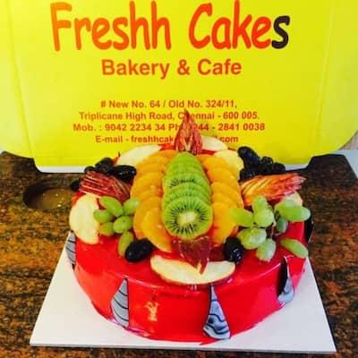 Freshh Cakes Triplicane Chennai