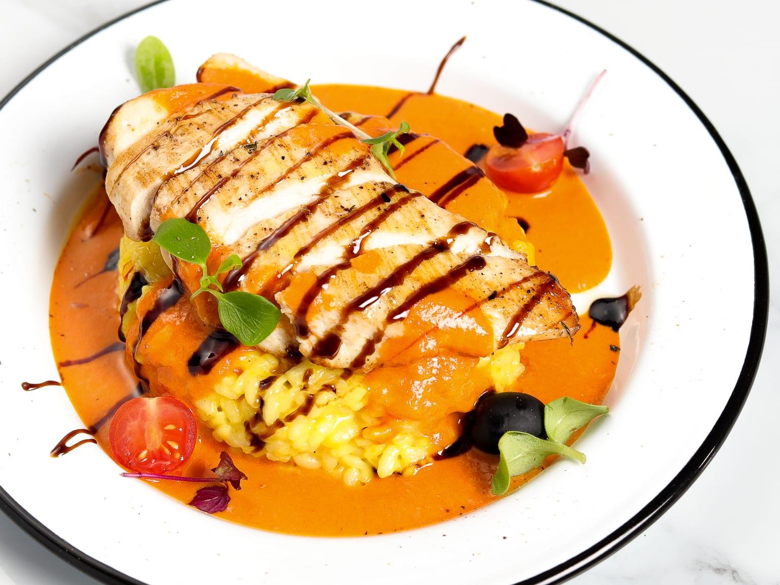 Dubai Style Risotto - Chicken