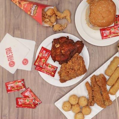 Five Star Chicken Menu, Menu for Five Star Chicken, Electronic City