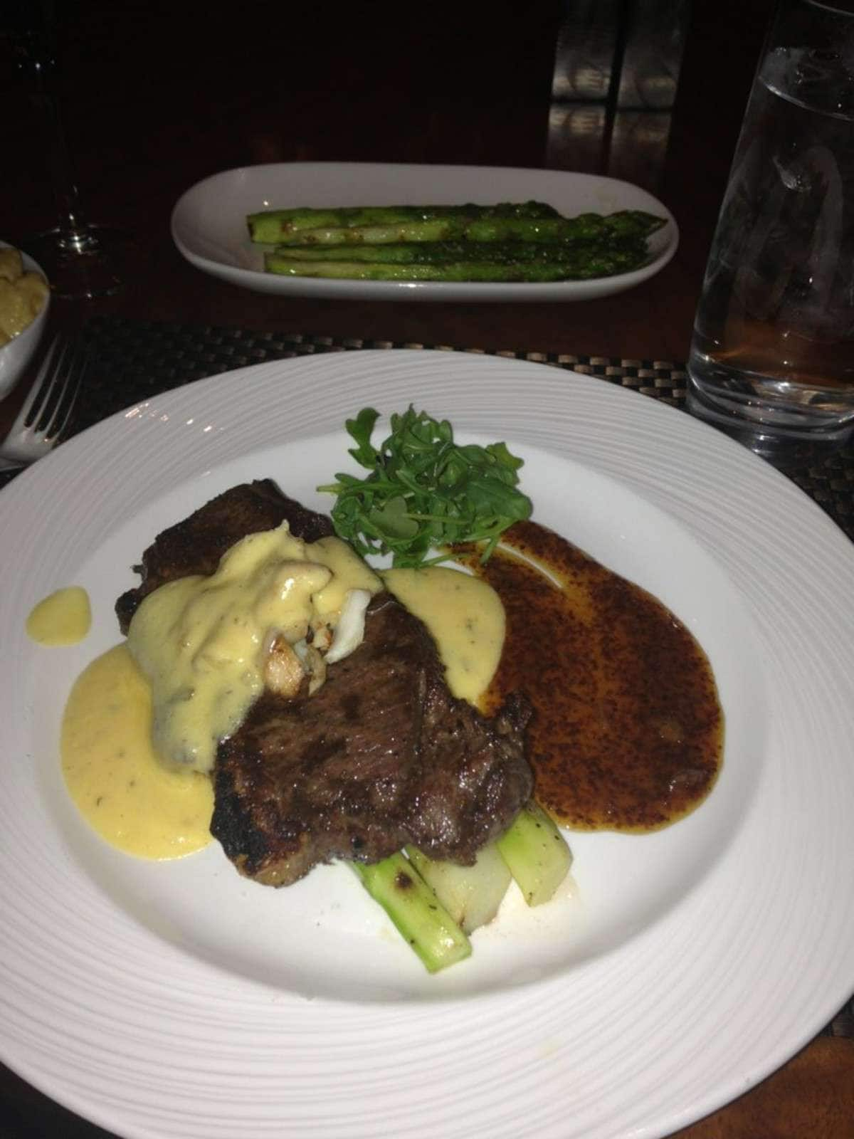 NY Strip With Ocar And Asparagus   Final Cut Steakhouse   Hollywood Casino  Columbusu0027s Photo