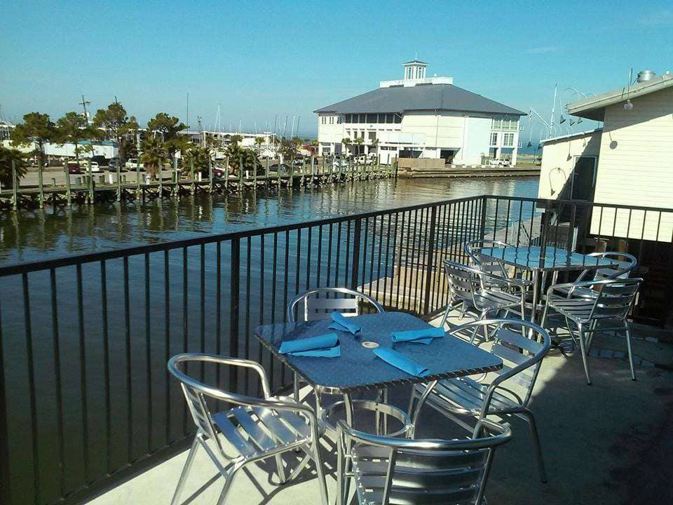 View From Our Patio   Blue Crab Restaurant U0026 Oyster Baru0027s Photo