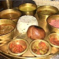 Image result for Aapno Rajasthan rajasthani thali