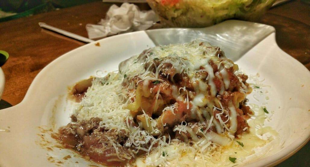 Olive Garden Italian Restaurant Menu