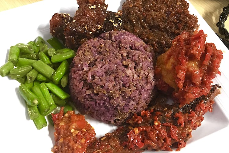Nasi Kalong, Riau, Bandung