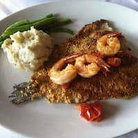 Hazelnut Crusted Trout - Willie G's Seafood & Steaks's photo