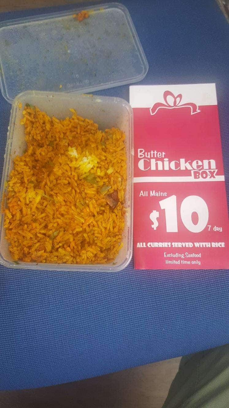 Butter Chicken Box