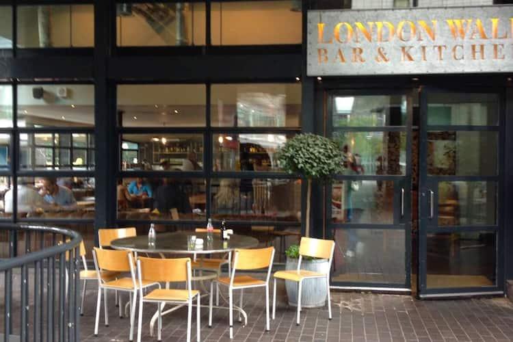 London Wall Bar Kitchen City Of London London