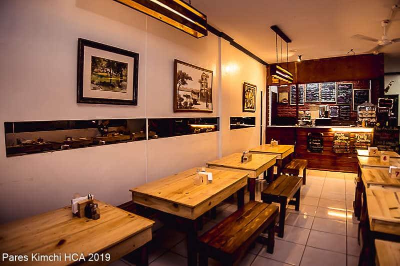 Pares Kimchi Menu, Menu for Pares Kimchi, Intramuros, Manila