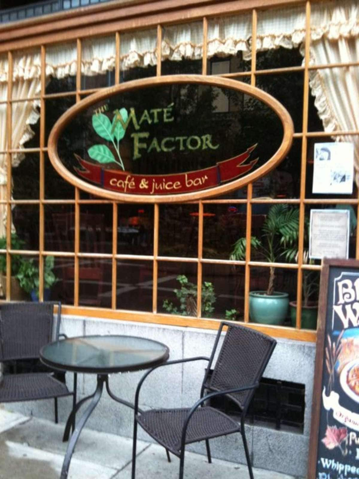 The Mate' Factor Cafe & Juice Bar