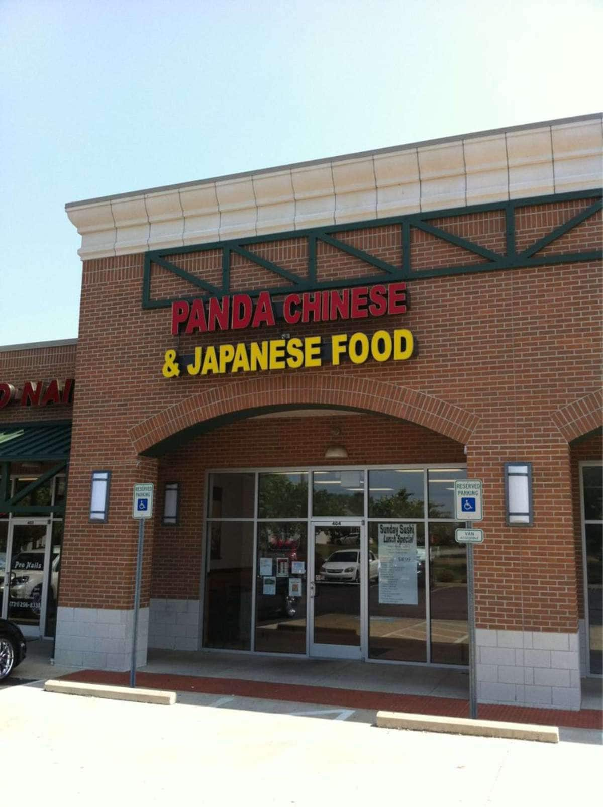 Panda Chinese and Japanese Food