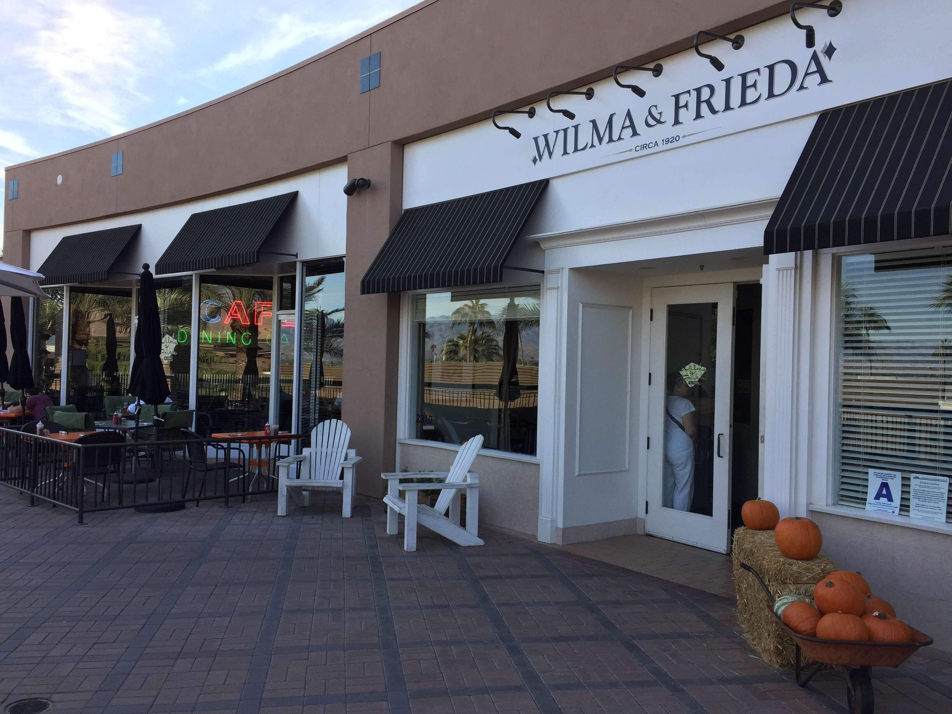 Wilma & Frieda's Cafe