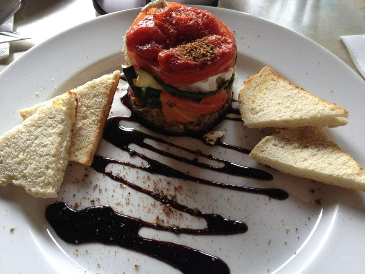 Tower of vegetables with goats cheese - Canopy Cafeu0027s photo & Canopy Cafe Photos Pictures of Canopy Cafe Dorrigo Dorrigo ...