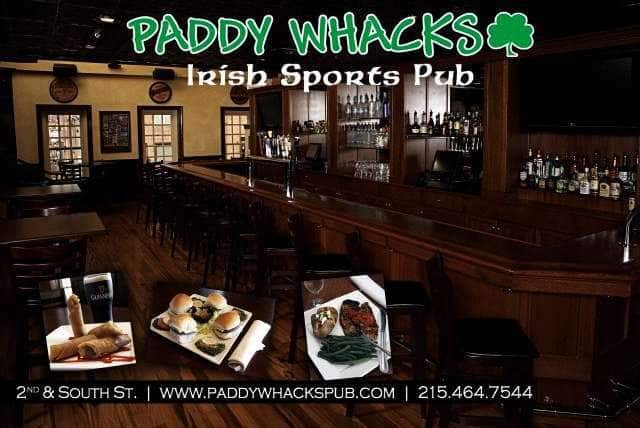 Paddy whacks philadelphia