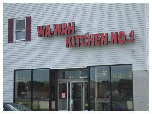Wa Wah Kitchen Menu Menu For Wa Wah Kitchen Meriden New Haven