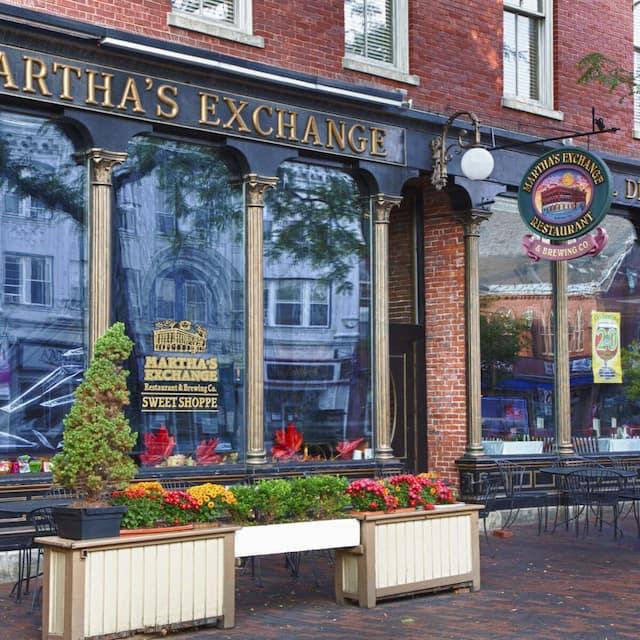 Martha's Exchange Restaurant