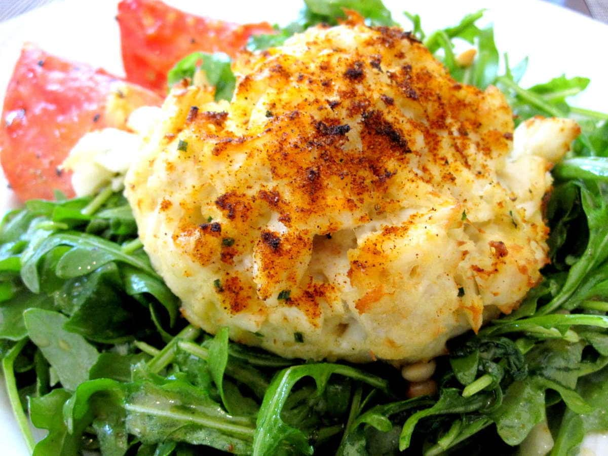 Risotto Cakes With Roasted Tomatoes And Arugula Recipes — Dishmaps