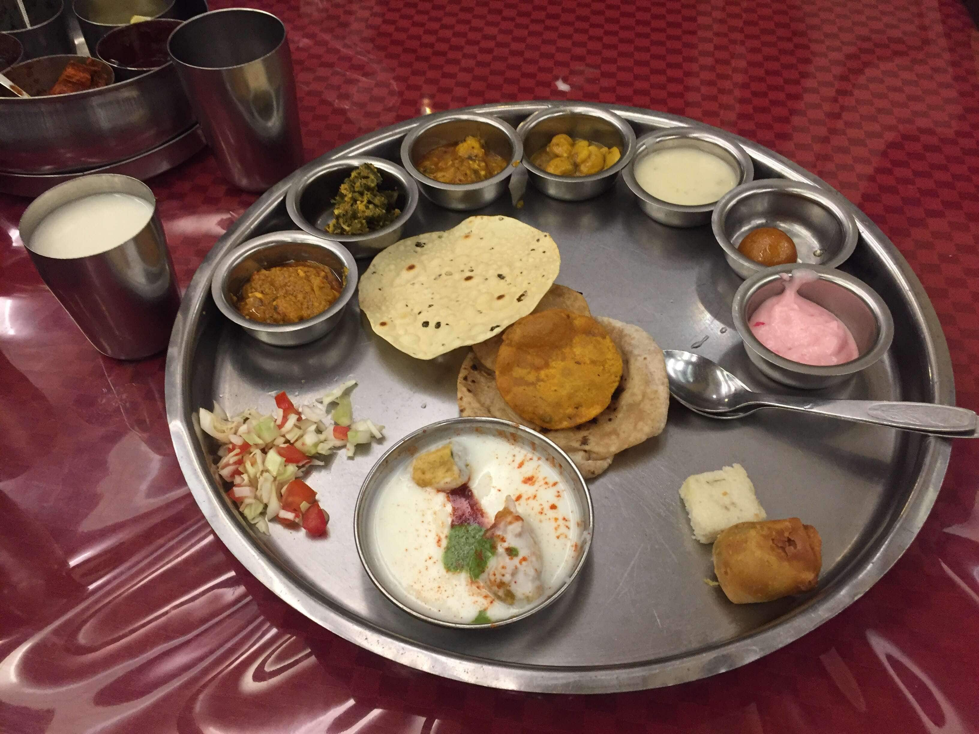 Kansar Gujarati Thali